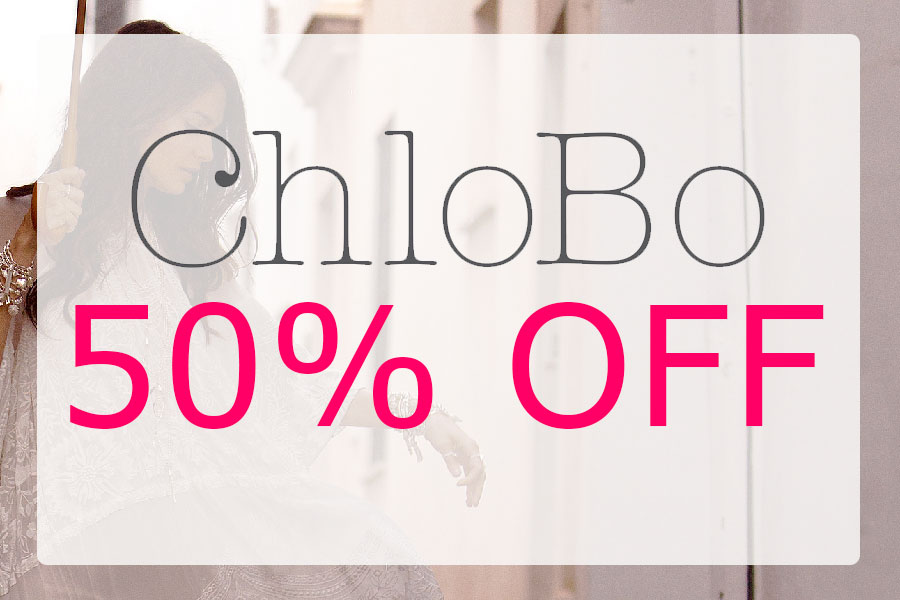 Upto 50% off ChloBo Sale