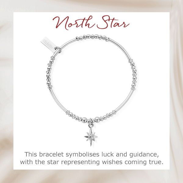 ChloBo Silver North Star Bracelet