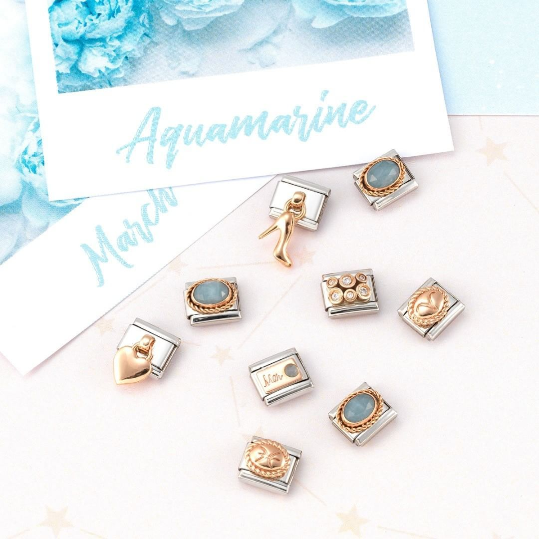 nomination birthstone charms
