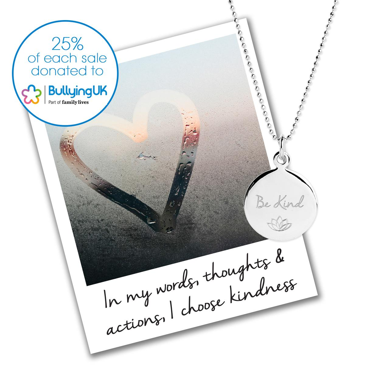 Bullying UK charity necklace - Mantra Jewellery