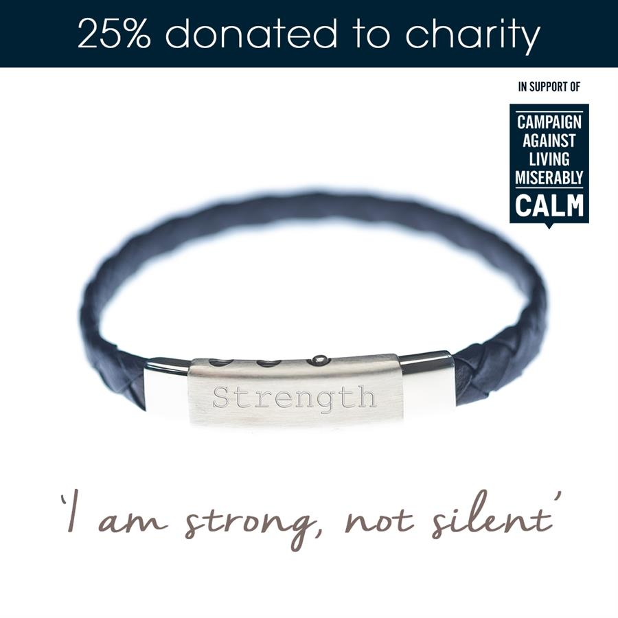 Campaign Against Living Miserably CALM Charity Necklace