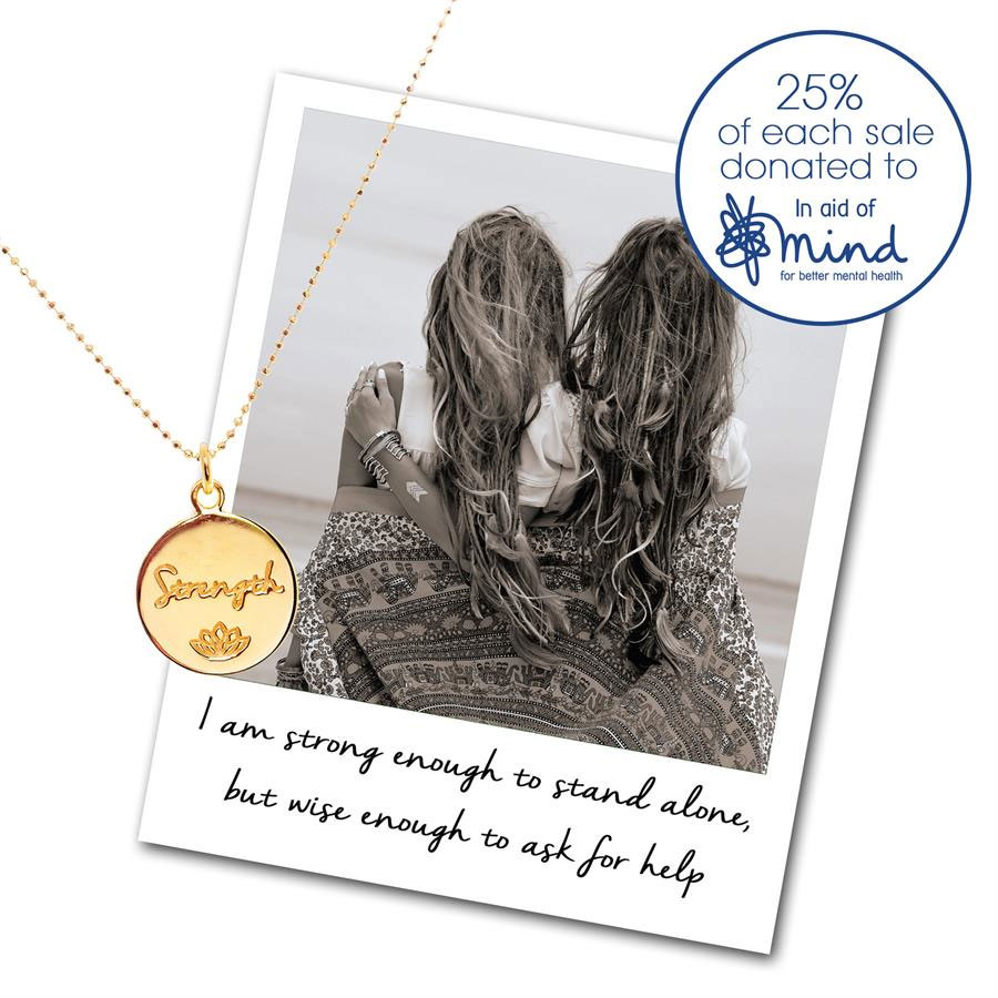 MIND Charity Necklace - Mantra Jewellery