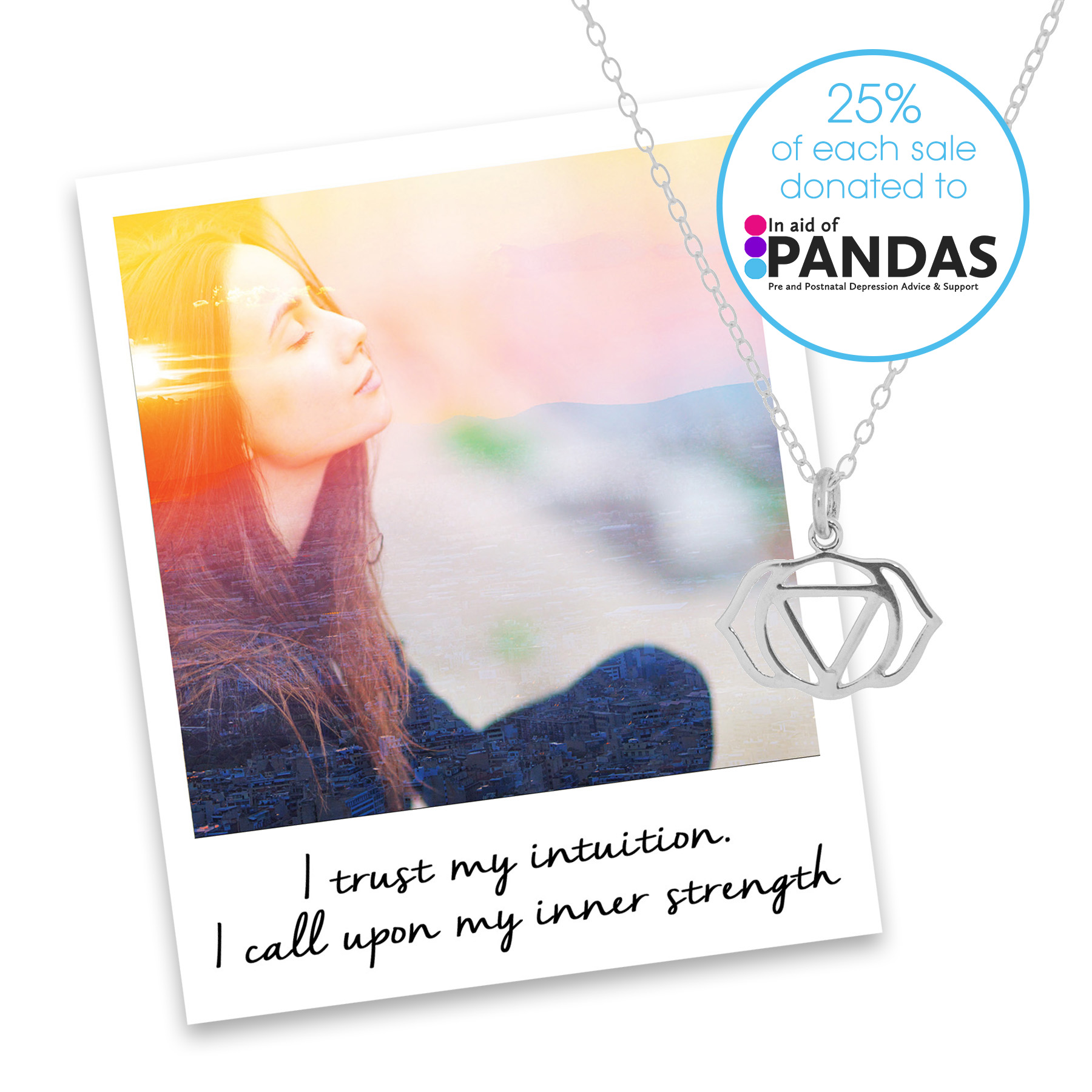 Pandas Charity Necklace