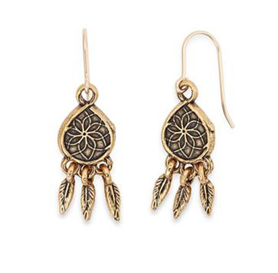 alex and ani dreamcatcher earrings