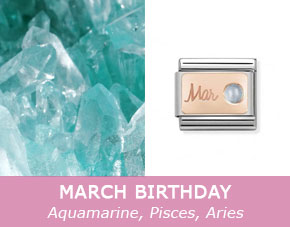 march birthstone jewellery guide