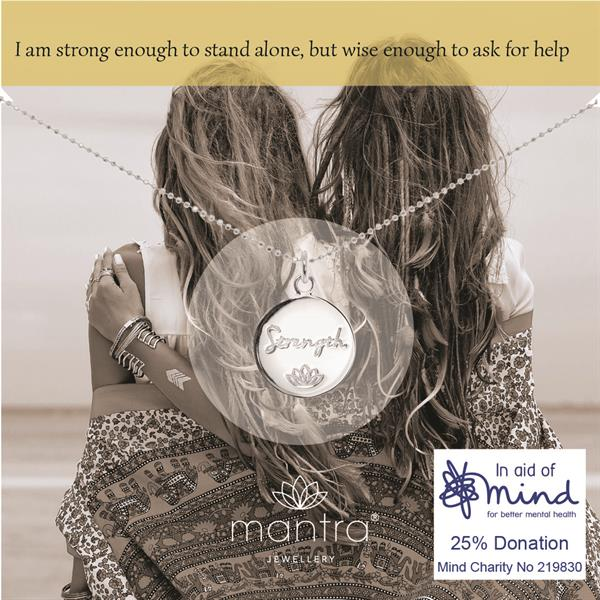 Strength Charity Necklace for MIND