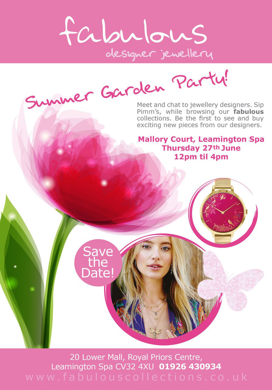fabulous summer garden party
