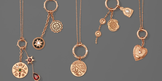 Nikki Lissoni Amulet Collection Rose Gold Necklaces