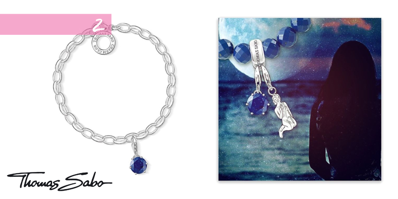 Thomas Sabo bracelet with September birthstone charm