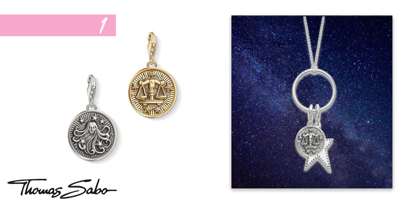 Thomas Sabo Generation Charm Club necklace with September zodiac