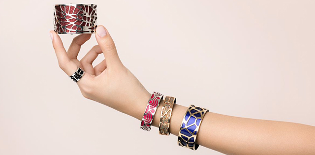 les georgettes how to wear tutorial cuffs