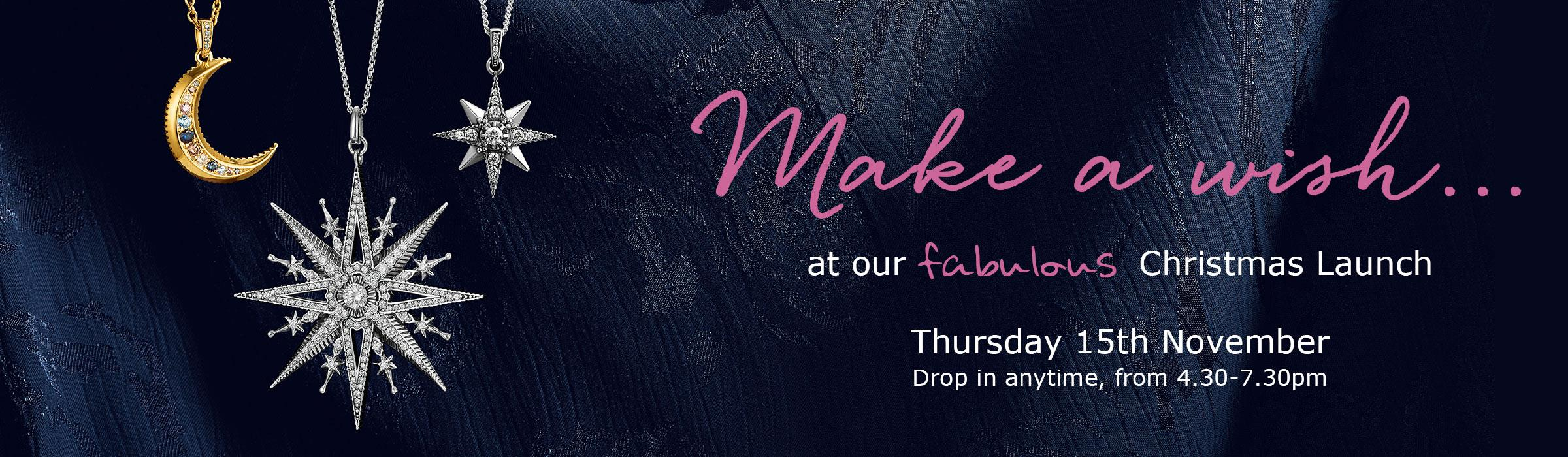 fabulous 'Make a Wish' Christmas Launch Event