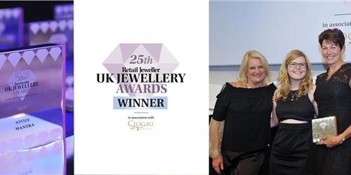 Mantra Jewellery wins 'Brand to Watch' at the 25th Annual Retail Jeweller Awards