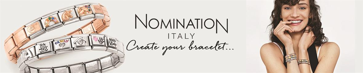 nomination charms and jewellery