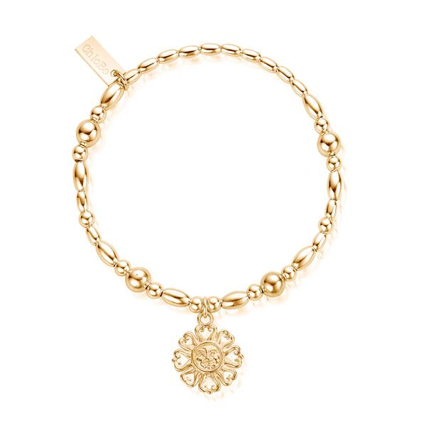 Ariella Gold Bright Love Bracelet