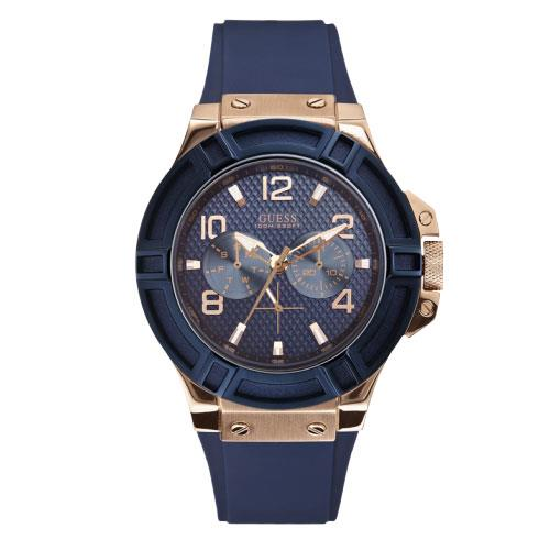 Rigor Mens Blue and Rose Gold Watch - photo #39
