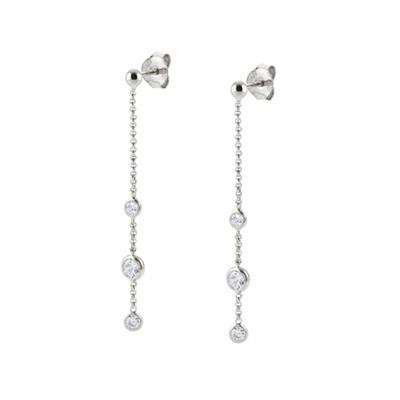 Buy Nomination Bella Long CZ Drop Earrings