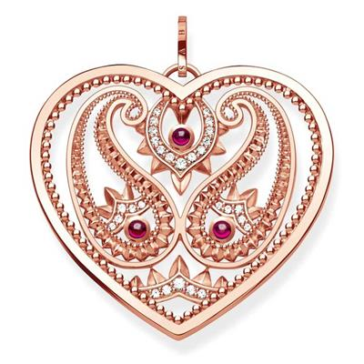 Buy Thomas Sabo Rose Gold Paisley Heart