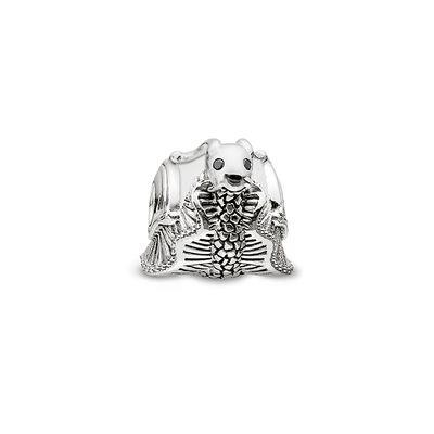 Buy Thomas Sabo Silver and Jade Snail Karma Bead
