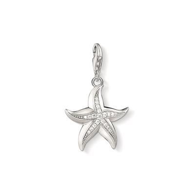 Buy Thomas Sabo Large Silver Starfish Charm With CZ