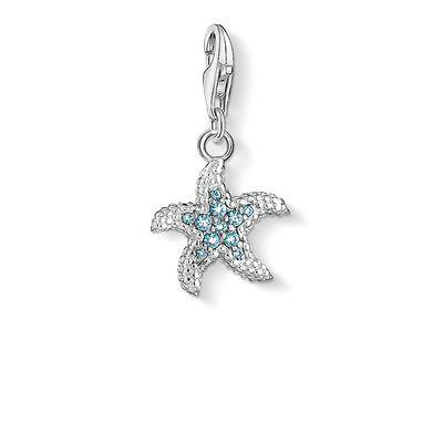 Buy Thomas Sabo Blue CZ Starfish Charm