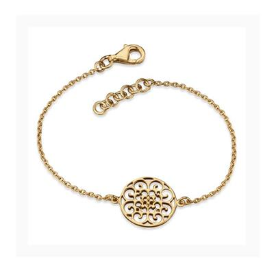 Buy Engelsrufer Filigree Disc Bracelet in Gold