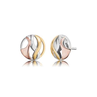 Buy Engelsrufer Tri Colour Paradise Studs