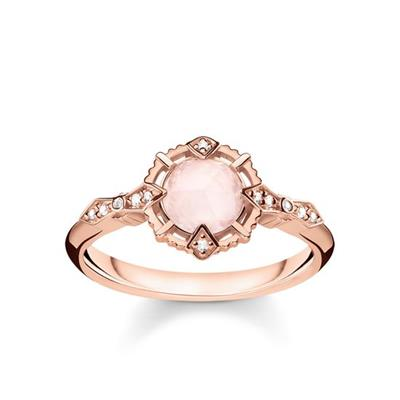 Buy Thomas Sabo Vintage Rose Gold Ring 52