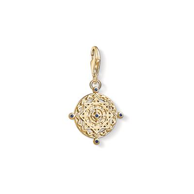 Buy Thomas Sabo Gold Vintage Compass Charm