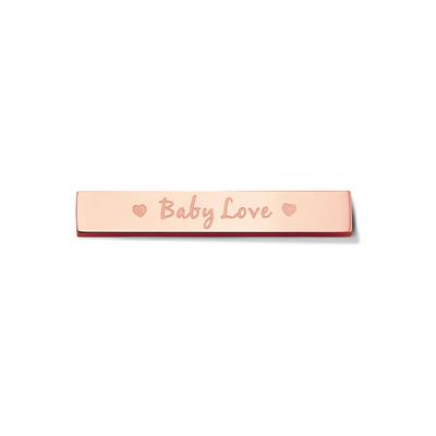 Buy Take What You Need Rose Gold Toned Baby Love Bar