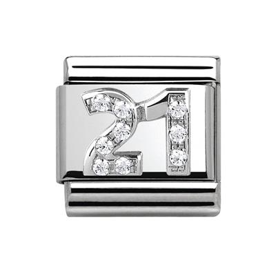 Buy Nomination Silver CZ 21