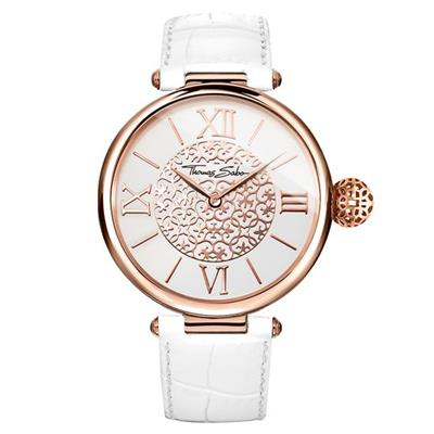 Buy Thomas Sabo Glam & Soul White Leather Karma Women's Watch