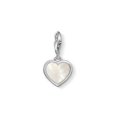 Buy Thomas Sabo Mother of Pearl Heart Charm
