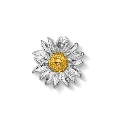 Buy Dower and Hall 18ct Gold Vermeil Large Daisy Treasure