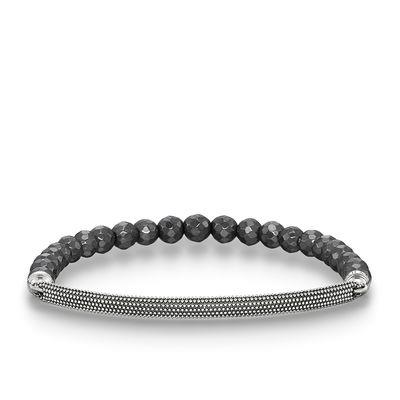Buy Thomas Sabo Love Bridge Silver Bobble Hematite Bracelet XLarge