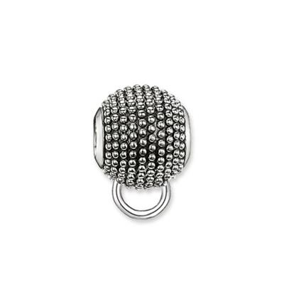 Buy Thomas Sabo Dotty Oxidised Karma Carrier Sterling Silver