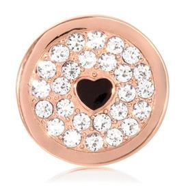 Buy Nikki Lissoni Rose Gold You Make My Heart Sparkle Coin 23mm