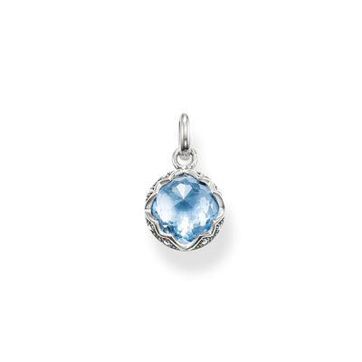 Buy Thomas Sabo The Purity of Lotos Blue Spinel Pendant