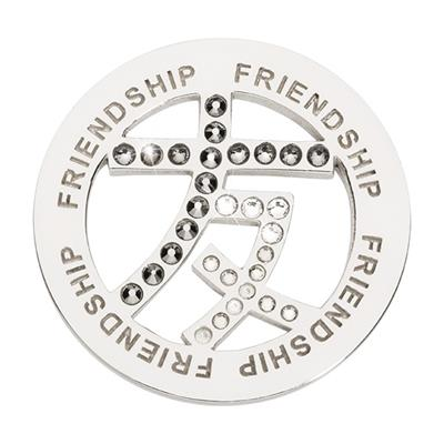 Buy Nikki Lissoni Silver Chinese Frienship Coin 33mm