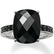 Buy Thomas Sabo Black CZ Statement Ring Size 52