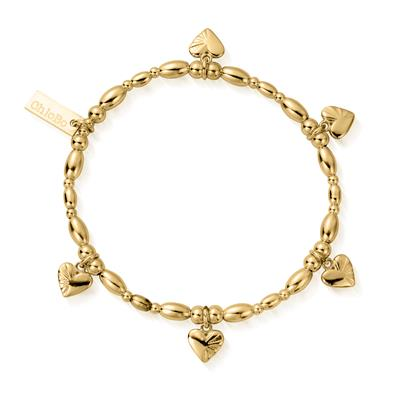 Buy ChloBo Gold Life Lover Bracelet