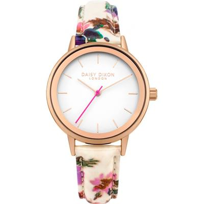 Buy Daisy Dixon Rose Gold Jasmine Floral Watch