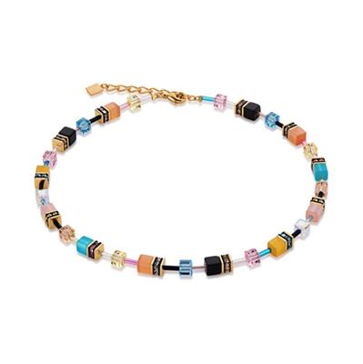Buy Coeur de Lion Multi Candy Geo Cube Necklace