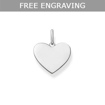 Buy Thomas Sabo Engravable Love Bridge Heart Pendant