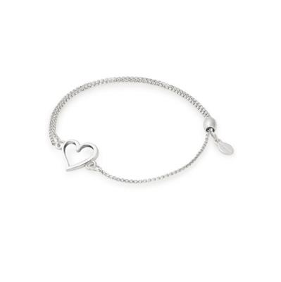Buy Alex and Ani Open Heart Precious Pull Chain Bracelet in Silver