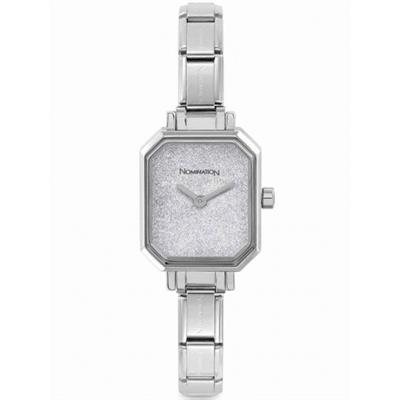 Buy Nomination Stainless Steel Glitter Dial Watch