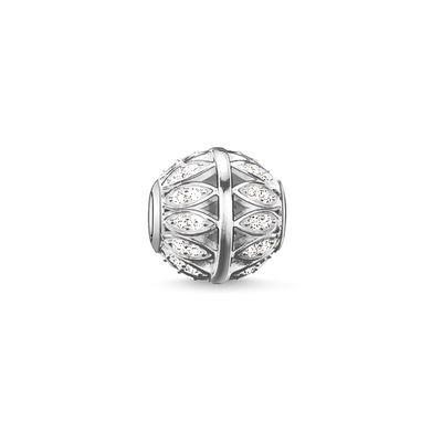Buy Thomas Sabo White Leaves Karma Bead