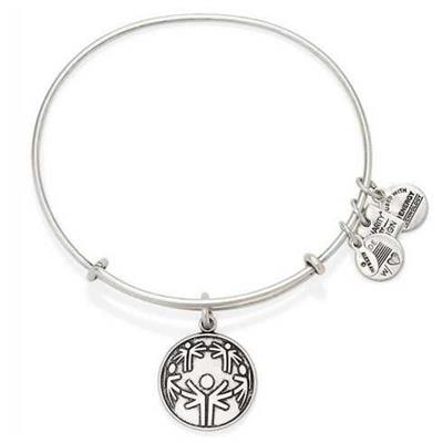 Buy Alex and Ani The Power of Unity Bangle in Rafaelian Silver