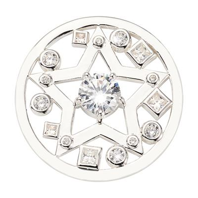 Buy Nikki Lissoni Silver Charming Star Medium Coin 33mm