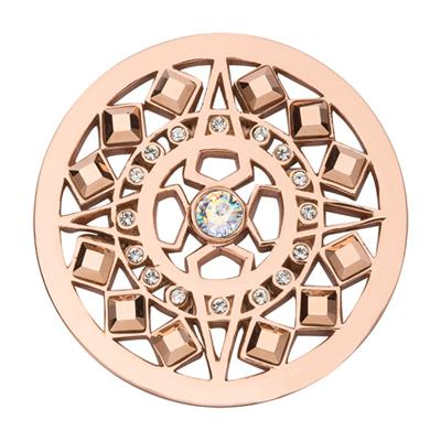 Buy Nikki Lissoni Rose Gold Swarovski Shooting Star coin 33mm